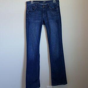 LOFT modern sexy boot jeans.